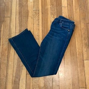 KUT from the Kloth baby boot cut jeans